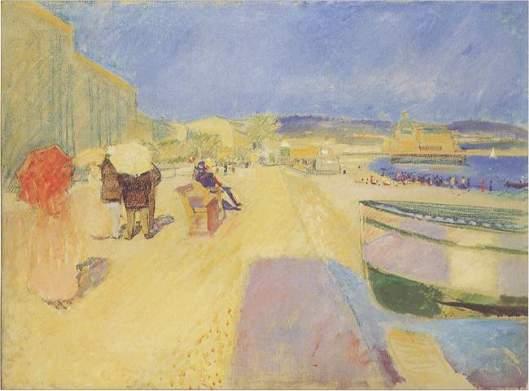 Edvard Munch Promenade des Anglais